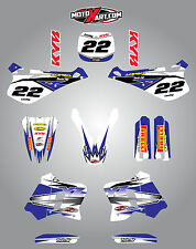 Yamaha YZ 125 - 1993 1994 1995  Full Graphic kit SHOCKWAVE Style decals stickers