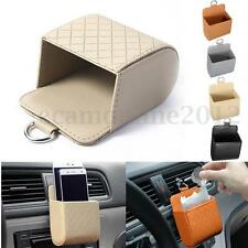 Car Air Vent Phone Storage Cool Hot Bag Tidy Organizer Travel Holder Pocket Cage