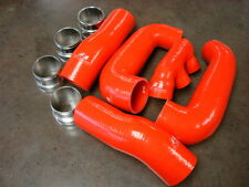Porsche 997 Turbo & GT2 Upgrade Turbo Boost Hose Kit in RED Color