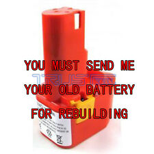 Rebuild service for Milwaukee 48-11-0250 battery 12-Volt Ni Cad 2.0