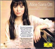 Alice Sara OTT: LISZT 12 Etudes d' execution transcendante S.139 DG CD 2008 NEU