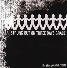 FREE US SH (int'l sh=$0-$3) NEW CD Tribute to Three Days Grace: Strung Out on Th