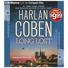 LONG LOST bestselling audio book on CD by HARLAN COBEN *** FREE SHIPPING ***