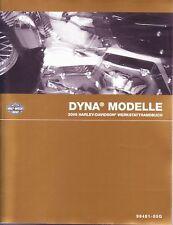 HARLEY Werkstatthandbuch 2005 Dyna Wide Glide DEUTSCH