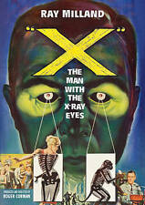 X: The Man with the X-Ray Eyes (DVD, 2015)
