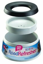 Prestige road refresher non spill pet water bowl, l, gris