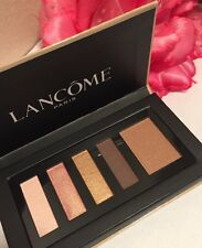 Lancome Color Design Palette Eyeshadow (4)&Blush (1) TEA PARTY WARM #01S New