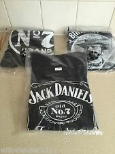 3 VERSCH DESIGN JACK DANIELS MEDIUM ORIGINAL T-SHIRTS