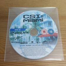 CSI MIAMI - Season 1 – Disc 2 - Episodes 5-8 - R2 - Replacement DVD DISC ONLY