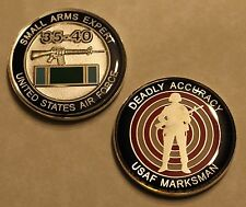 USAF Marksman Small Arms Expert 35-40 Air Force Challenge Coin