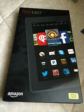 "(BRAND NEW) AMAZON KINDLE FIRE HD 7"" WI-FI 8GB QUAD-CORE TABLET CITRON 4TH GEN"
