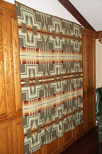 "PENDLETON BLANKET 64"" x 80"" NEW WITH TAGS IN BOX HARDING THYME BLANKET #3"