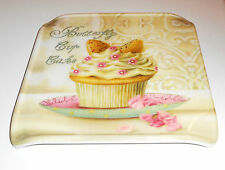 Square Cake Stand Muffin Cup Cake Serving Tray Decorative Plate Dining Tableware