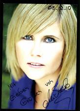 Michaela Schaffrath Autogrammkarte Original Signiert # BC 49964