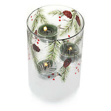 YANKEE CANDLE WINTER FIRST FROST LARGE MULTI TEA LIGHT CANDLE HOLDER CHRISTMAS