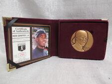 Ken Griffey Jr Seattle Mariners Highland Mint Bronze Magnum L/E Coin 365/3000