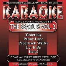 Karaoke Songs Made Famous By The Beatles Volume Two NOS