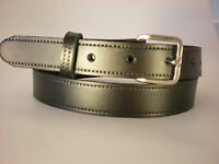 "XXXL 58"" LONG BLACK LEATHER BELTS SUITABLE FOR MEN AND WOMEN"