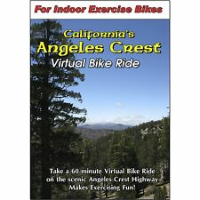 ANGELES CREST CALIFORNIA BIKE RIDE CYCLING SCENERY VIDEO EXERCISE & FITNESS DVD
