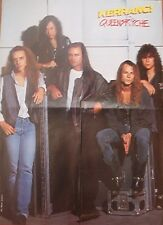 QUEENSRYCHE 'hanging around' LARGE magazine POSTER / Pin Up 22x16 inches