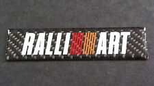 FIBRA DI CARBONIO RALLIART BADGE ASX Outlander Evo COLT LANCER SHOGUN Mivec