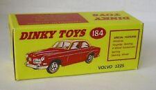 Repro Box Dinky Nr.184 Volvo122 S