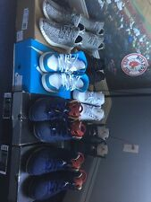 YEEZY 350, 350 AND JORDAN 1,3,5,6,6  RETRO SIZE 10-11 100% Authentic With OG Box