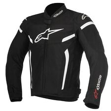 ALPINESTARS T-GP PLUS R V2 TEXTILE AIR JACKET BALCK & WHITE / X-LARGE