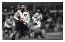 RYAN GIGGS - MANCHESTER UNITED AUTOGRAPHED SIGNED A4 PP POSTER PHOTO