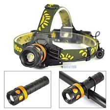 8000lm XM-L T6 LED 3in1 Zoomable Headlamp Headlight Flashlight Bicycle Light MTC
