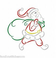 Art Deco Christmas Time 10 Machine Embroidery Designs on CD in 3 sizes Colorline
