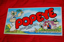 Popeye the Sailor Man Board Game - 1983 - Parker - OOP - Rare - Nintendo