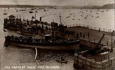 Falmouth. Prince of Wales Pier in Sunny West End Series by L.Griffiths / E.A.B.