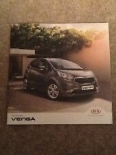 KIA - New Venga UK Sales Brochure 2015