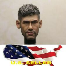 1/6 Neymar head sculpt  Barcelona Brazil soccer for hot toys phicen US seller