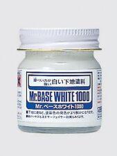 Mr. HOBBY #SF283 Base White 1000 Brush-On Primer - Gunze / GSI / Creos 40ml