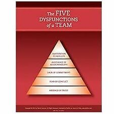 Five Dysfunctions of a Team by Patrick M. Lencioni (2012, Paperback)