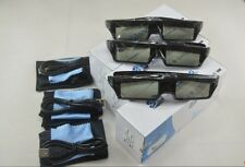 3 X RF3D Active Rechargeable Glasses Substitute for Epson RF3D Glasses ELPGS03