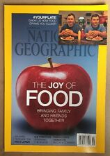 National Geographic Joy Of Food 3D Printers Holy Lands Dec 2014 FREE SHIPPING!