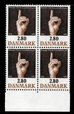 DANIMARCA - DENMARK - 1985 - Centenario dell'Associazione danese dei sordi