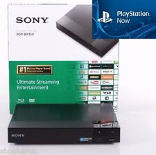 Sony BDP-BX350/S3500 Smart Blu-Ray Player Built-In WiFi Playstation Now Direct