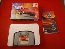 Cruis'n USA (Nintendo 64, 1996) N64 COMPLETE w/ Box Cruising Cruisin Crusin'