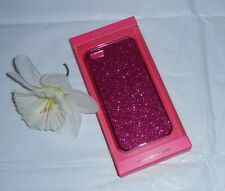 Victoria's Secret Bling Pink Glitter Sparkle iPhone 5/5S Hard Case Cover NEW