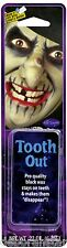 Professional Black Tooth Out Wax Witch Monster Zombie Horror Halloween Make-up