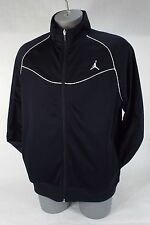 New Mens XL NIKE Jordan Jumpman Black Track Jacket $80 638163-010