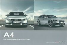 2011 AUDI A4 Avant/Berlina brochure it 1.8/2.0TFSI-3.2FSI-2.0/2.7/3.0TDI-quattro