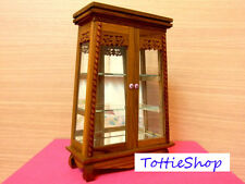 SMALL VINTAGE THAI Teak Cupboard Furniture and Mirror | FREE SHIPPING