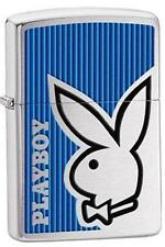 Zippo 28261 playboy bunny logo brushed chrome Lighter