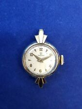 14K YELLOW GOLD OMEGA WATCH. VINTAGE OMEGA HAND-WINDING MECHANICAL WATCH.