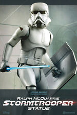 Star Wars Statue 1/5 Ralph McQuarrie Stormtrooper 47 cm SIDESHOW - RARE ITEM